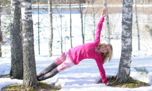 Yoga-in-winter