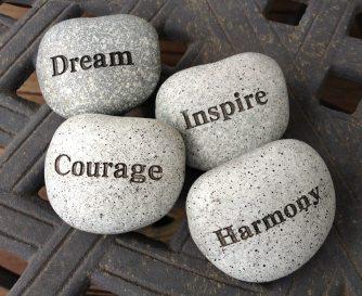 dream inspire courage
